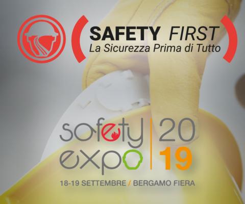 Safety First® al Safety Expo di Bergamo Fiera 2019