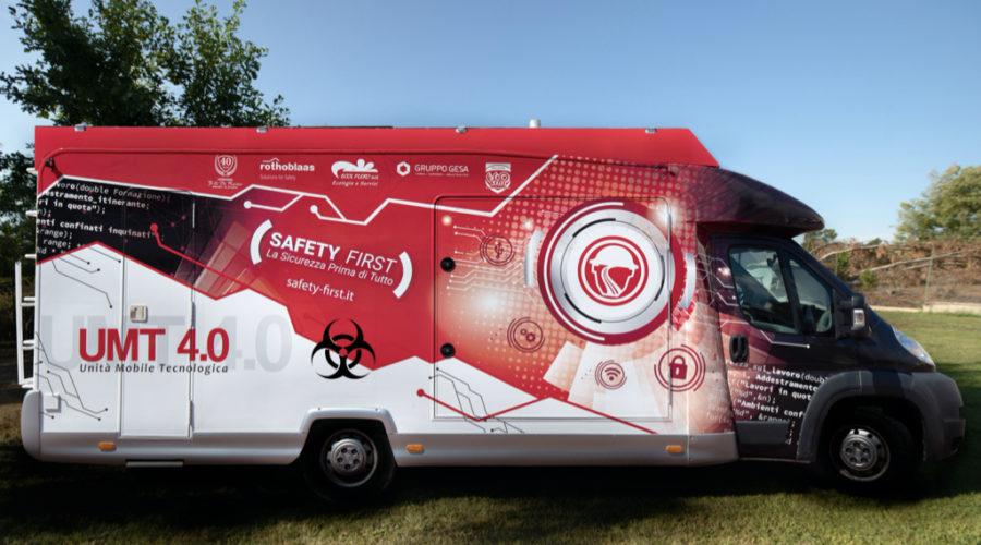 Safety Biological Risk con Unità Mobile Tecnologica